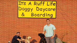 Ruff Life Front Sign After